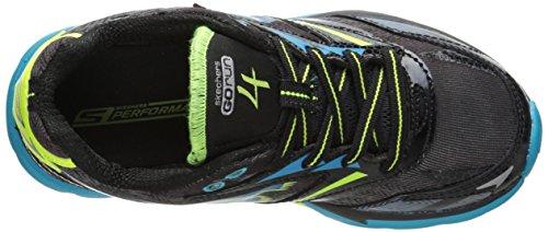 Skechers Go Run 4 - zapatilla deportiva de material sintético niño negro - Schwarz (BKTL)