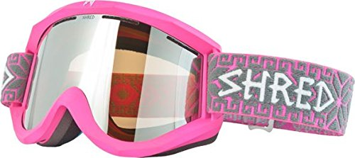 SHRED Goggles, Pink/Grey