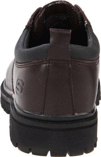 Skechers Usa Heren Steeg Kat Utility Schoen Donkerbruin