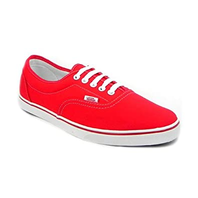 d6070075b75e SV - VANS LPE MENS THIN SOLE PLIMSOLLS LACE UP MENS TRAINERS - Red ...