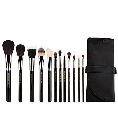 Bdellium Tools Professional Makeup Maestro Series Complete 12pc. Brush Set with Roll-up Pouch by Bdellium Tools