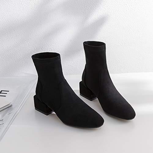 Blocco Stivali Toacute MAYPIE Nero Tacco Scivolare Synthetic a su Donna nUwgwB80q
