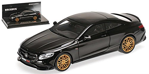 2015-brabus-850-mercedes-benz-s-63-amg-s-class-coupe-in-black-model-car-in-143-scale-by-minichamps