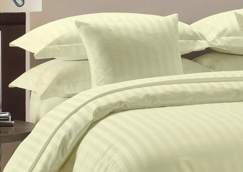Royal Beddings 800TC 2pc Pillow Case 100% Egyptian Cotton Damask Stripe