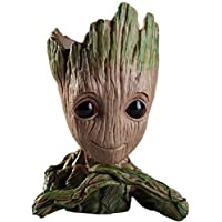 Zesta Guardians of The Galaxy Flowerpot/Pen Stand/Baby Look Innocent Groot Action Figure Toy (Second Edition)