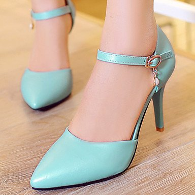 5 Party Pointed UK1 Pink amp;Amp; Stiletto EU33 Dress 5 Piece Heel Two Evening Toe Women'S Zormey CN32 Shoes US3 Blue D'Orsay White amp;Amp; Heels 18PHw