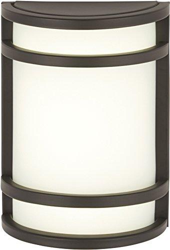 Minka Lavery Outdoor Wall Light 9801-143, Bay View Exterior Pocket Sconce Lantern, 60 Watts, Bronze