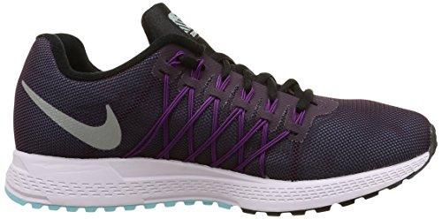 Nike Wmns Air Zoom Pegasus 32 Flash - Calzado Deportivo para mujer Morado (Nbl Purple / Rflct Slvr-Vvd Prpl)