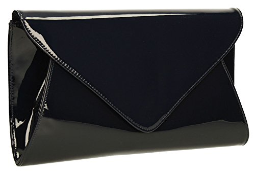 Navy Clutch Ladies Blue Evening Women Envelope Bags Bridal Pennie Party Designer avqwz00d