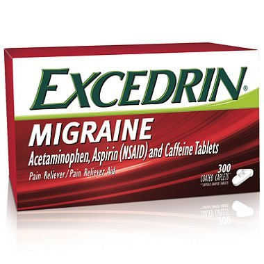 Excedrin Migraine Coated Caplets (300 ct.) by Excedrin