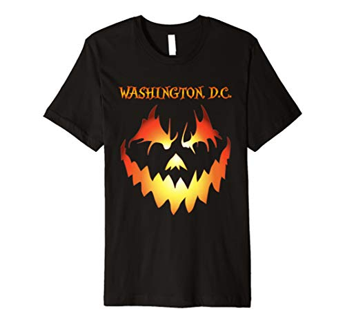 Washington DC Jack O Lantern Halloween Costume Premium (Washington Dc Halloween Parade)