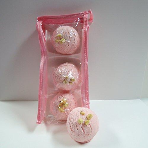 Kids Cherry Almond (Dead Sea Spa Care Care Cherry Almond Bubble Bath Truffles (Pack of 3))