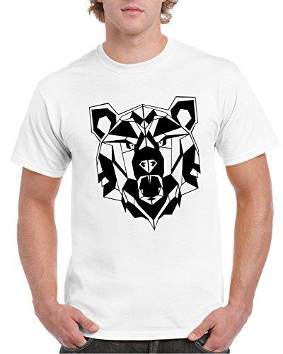 Camiseta hombre de con geom estampado xO0XUnO