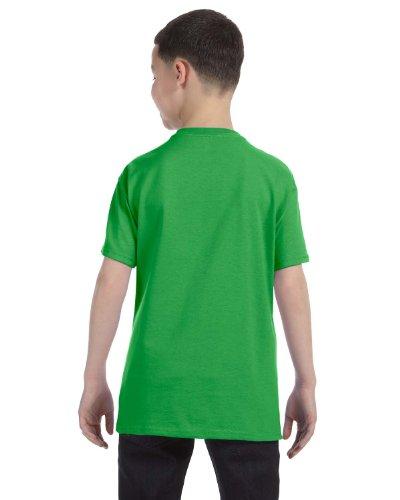 By Hanes Hanes Youth 61 Oz Tagless T-Shirt - Shamrock Green - L - (Style # 54500 - Original Label)