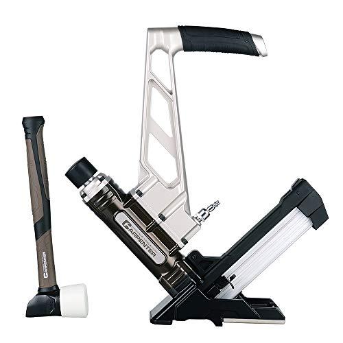 Carpenter Air Tools CFL5016 7 Year Warranty - Carpenter Pneumatic 3-In1 Flooring Nailer & Stapler