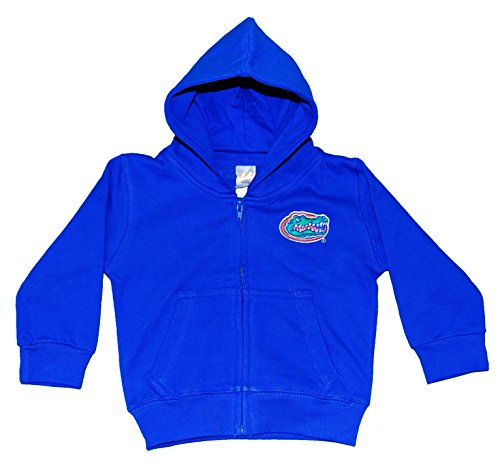 NCAA Florida Gators Full Zip Hooded Fleece Jacket, 6 months, Royal
