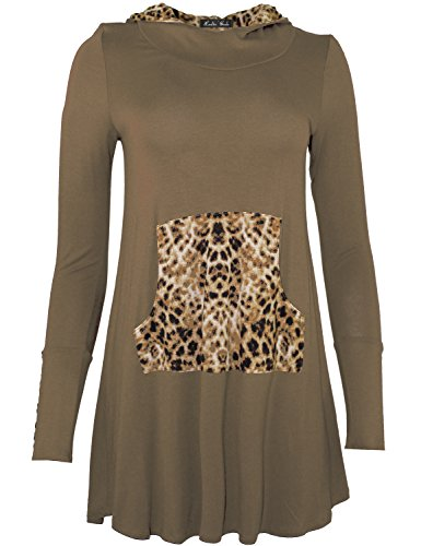 cheetah print dress - 9