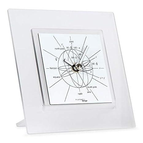 INCANTESIMO Reloj de Mesa, Astronomiae 550 Bn, Metacrilato de Alta ...