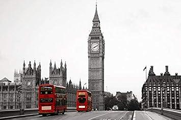 8b826737c Wallpaper London big ben 3d: Amazon.ae: WBaby