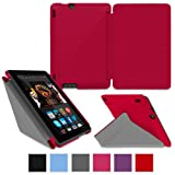 rooCASE Amazon Kindle Fire HDX 7 Case - (2014 Current Generation) Origami Slim Shell 7-Inch 7