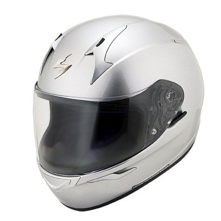 Scorpion EXO-R410 Solid Hypersilver Full Face Helmet - Small