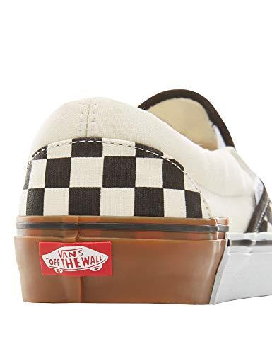 Deporte Checkerboard Zapatillas gum Block Ante De Vans Unisex PE0qqp1