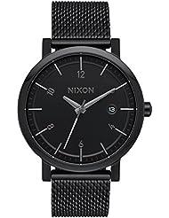 Nixon Mens The Rollo 38 SS All Black Watch