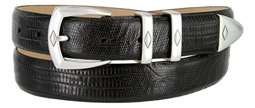 Canyon Italian Calfskin Leather Men's Designer Dress Golf Belt 1-1/8