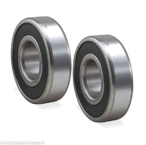 ((2) Pallet Jack Load Wheel 47mm OD x 25mm ID x 15mm Thick Ball Bearings)