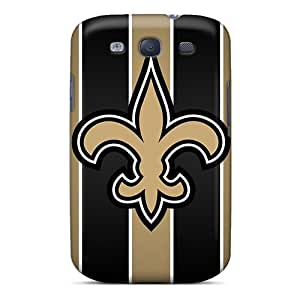 Hot Design Premium SooCk2789FFLmX Tpu Case Cover Galaxy S3 Protection Case(new Orleans Saints)