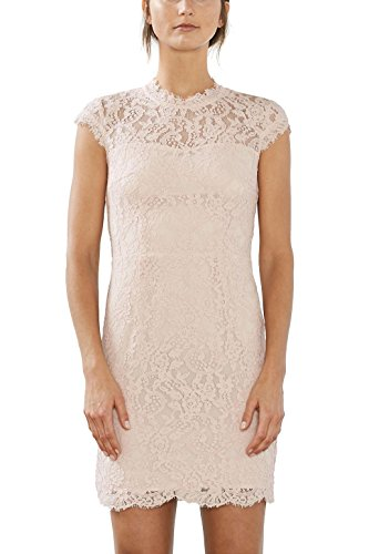 Nude ESPRIT Beige Damen Dusty Collection Kleid 275 vvPXH7q