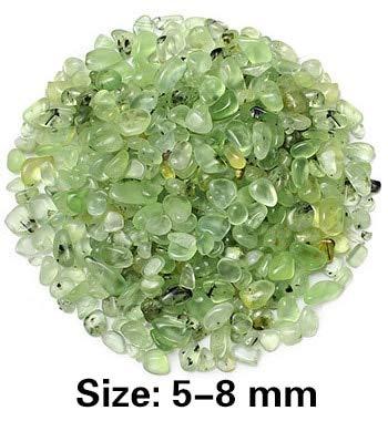Cocas 250g Green Crystal Stones for Vase Fish Tank Decoration Aquatic Pet Supplies Decorative Marble Beads Aquarium Substrate Ornament - (Color: Green, Size: 5-8mm) ()