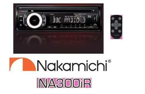 NAKAMICHI NA300IR CD MP3 WMA SD USB iPOD iPHONE RDS for sale  Delivered anywhere in USA