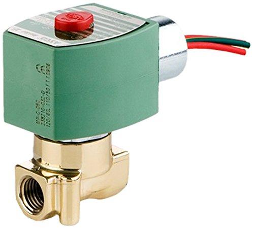 21985 ASCO 8262H022-12//DC Brass Body Direct Acting General Service Solenoid Valve 0.35 Cv Flow Nitrile Butylene Sealing 1//4 Pipe Size 1//8 Orifice 12V//DC 1//4 Pipe Size 1//8 Orifice ASCO Valve Inc 2-Way Normally Closed