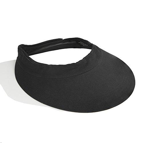 Intrepid International Equivisor Cotton Helmet Visor, Black