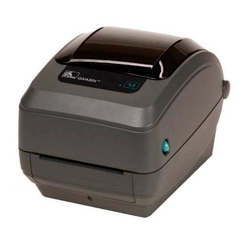 10d Thermal - Zebra GX43-102511-000 GX430T Direct Thermal/Thermal Transfer Printer, 300 DPI, Monochrome, Desktop, 4x6 Label Printer, 7.5