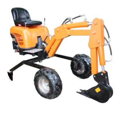 Mini digger design plans for towable backhoe excavator (o...