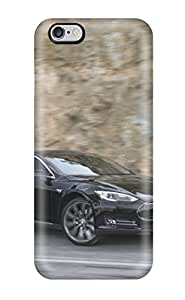 Ultra Slim Fit Hard ZippyDoritEduard Case Cover Specially Made For Iphone 6 Plus- Tesla Model S 19