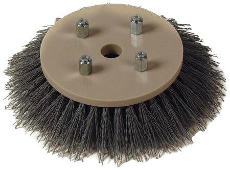 Fas-Trak MSC-076 Micro-Scrub Tynex Grit Brush, 6'' Diameter