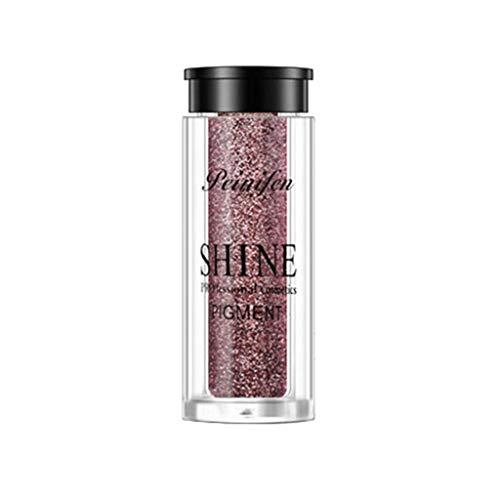 - SUSSMAI Portable 6 Colors Metallic Shiny Smoky Eyes Eyeshadow Waterproof Glitter Liquid Eyeliner Blusher Cosmetic Set
