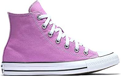 Amazon.com | Converse Chuck Taylor All Star High Top Big Kid's Shoes  Fuchsia Glow 155570f | Sneakers