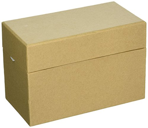 Paper-Mache Recipe Box-6.75