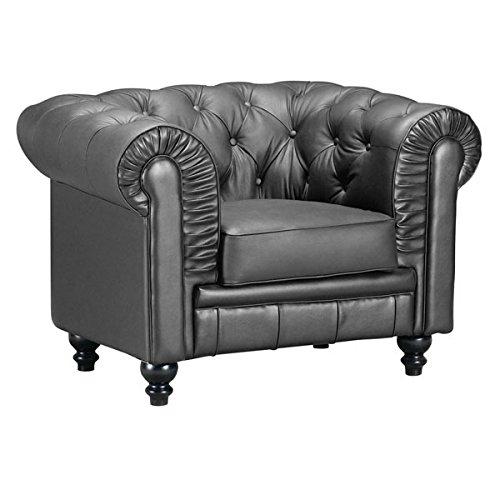 Zuo Aristocrat Arm Chair, Black