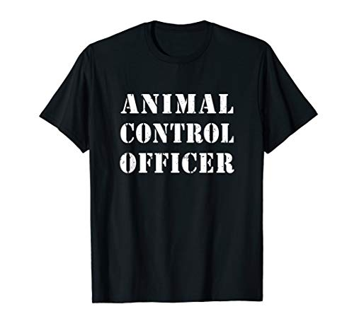 Animal Control Officer Costume Halloween Shirt -