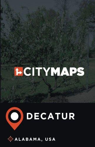 City Maps Decatur Alabama, USA