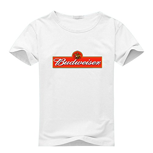 Budweiser Logo For Men's T-shirt Tee Outlet ()