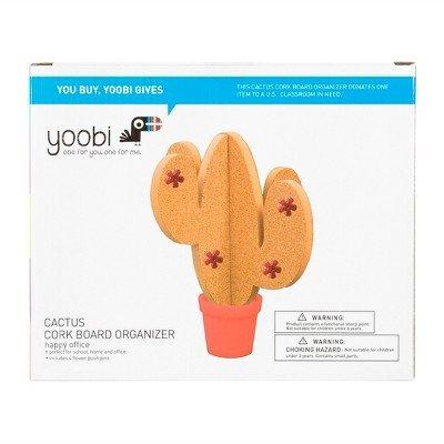 Cactus Cork Board - Yoobi153; Multicolor