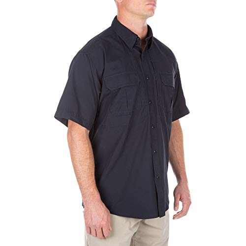 Bleu Shirt Marine Tactical Cotton Short Sleeve 11 5 4UwgqYg