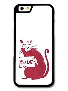 AMAF ? Accessories Banksy Don't Lie Street Art case for iPhone 6