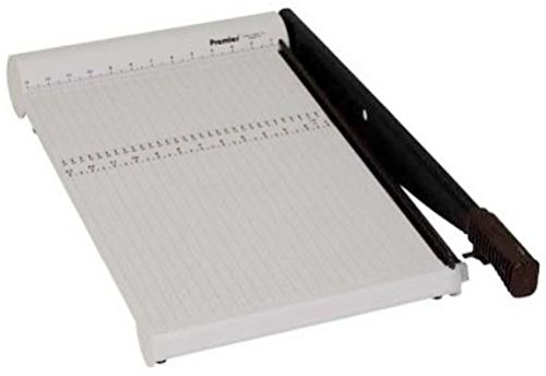 Martin Yale P218X Premier PolyBoard Paper Trimmer, Up to 10 sheets of 20lb. bond paper at once, Permanent 1/2
